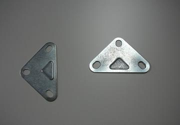 Chapas troqueladas y perforadas