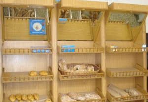 Estantes para panadería